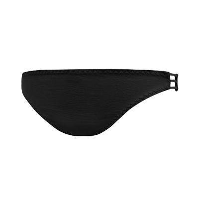 瑪登瑪朵-魔酷風革-魔酷款-低腰三角網褲-黑
