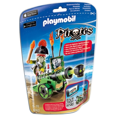 playmobil 海盜射擊組-綠