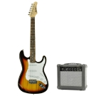 Sebrew 希伯萊 ST 經典四色+20W音箱+全配。電吉他,單單單拾音器+小搖