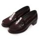(女)日本 HARUTA 經典4603粗跟學生鞋-咖啡色 product thumbnail 1
