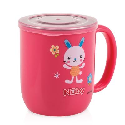 Nuby 不鏽鋼喝水杯_粉(18M+)