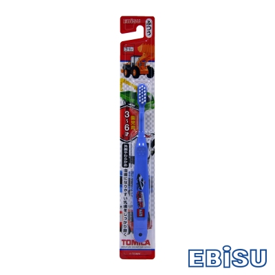 日本EBiSU TOMICA 3~6歲兒童牙刷