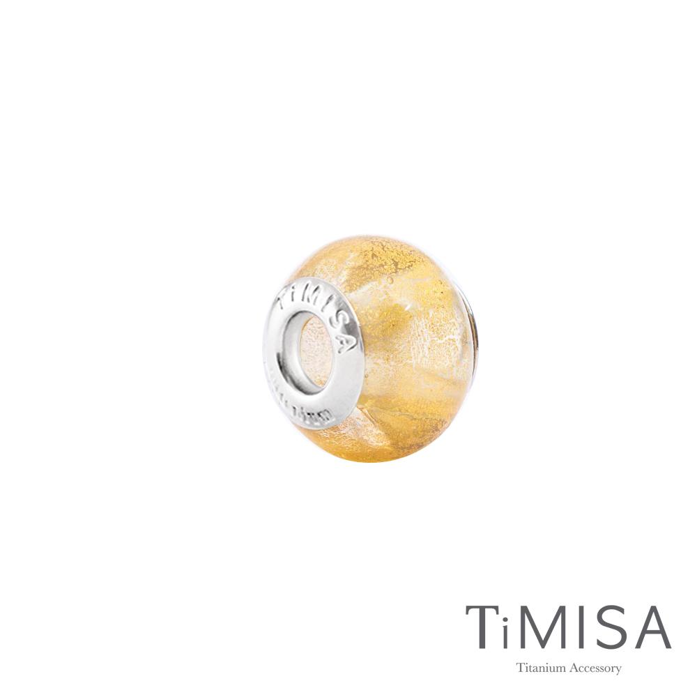 TiMISA《月暈(11mm)》純鈦琉璃 墜飾串珠