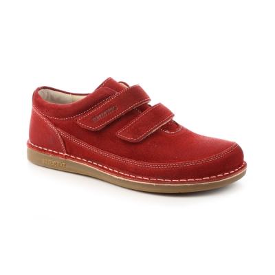 勃肯BIRKENSTOCK 496201。泰勒休閒包鞋(深紅)