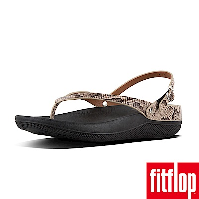 FitFlop FLIP LEATHER SANDALS蛇紋