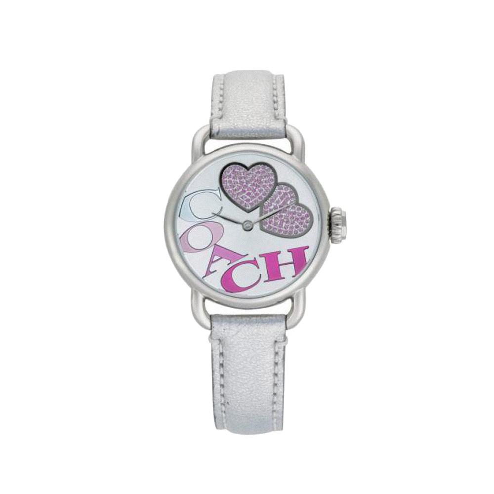 COACH Hamptons 愛戀圓舞曲動感腕錶-粉紅-30mm