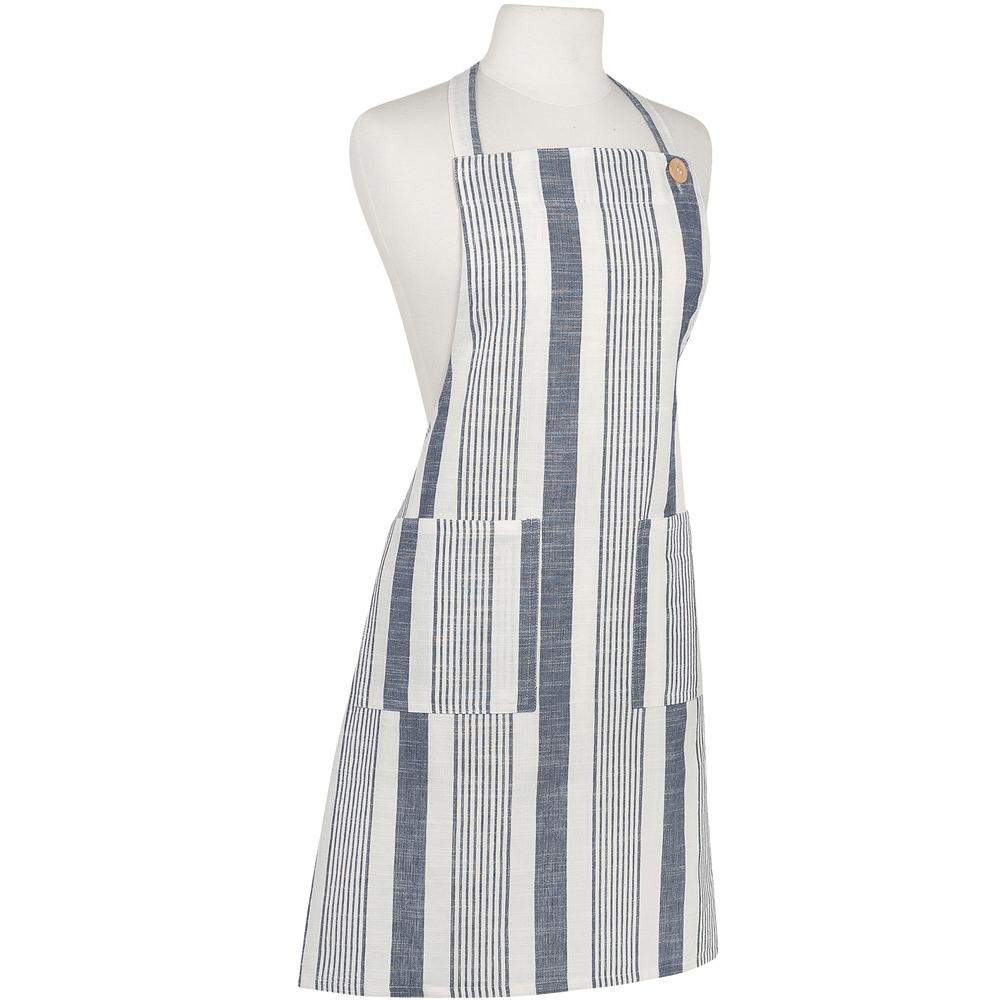 NOW 平口雙袋圍裙(經典條紋)