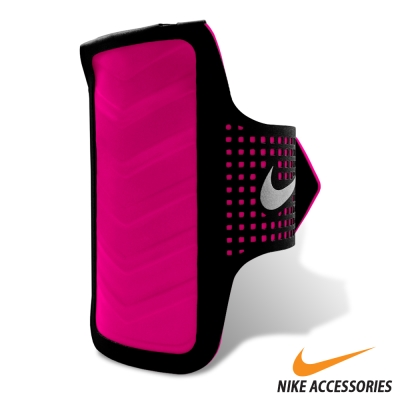 NIKE 女用輕量手機臂包(適用IPHONE 6)粉紅款-快速到貨