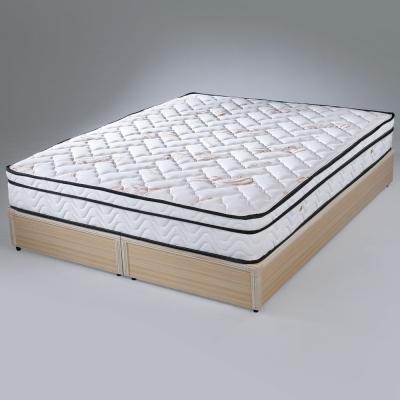 Homelike-凱蜜三線乳膠獨立筒床墊-單人3-5尺