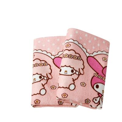 Sanrio三麗鷗授權-美樂蒂與羊咩咩毛巾(3入)