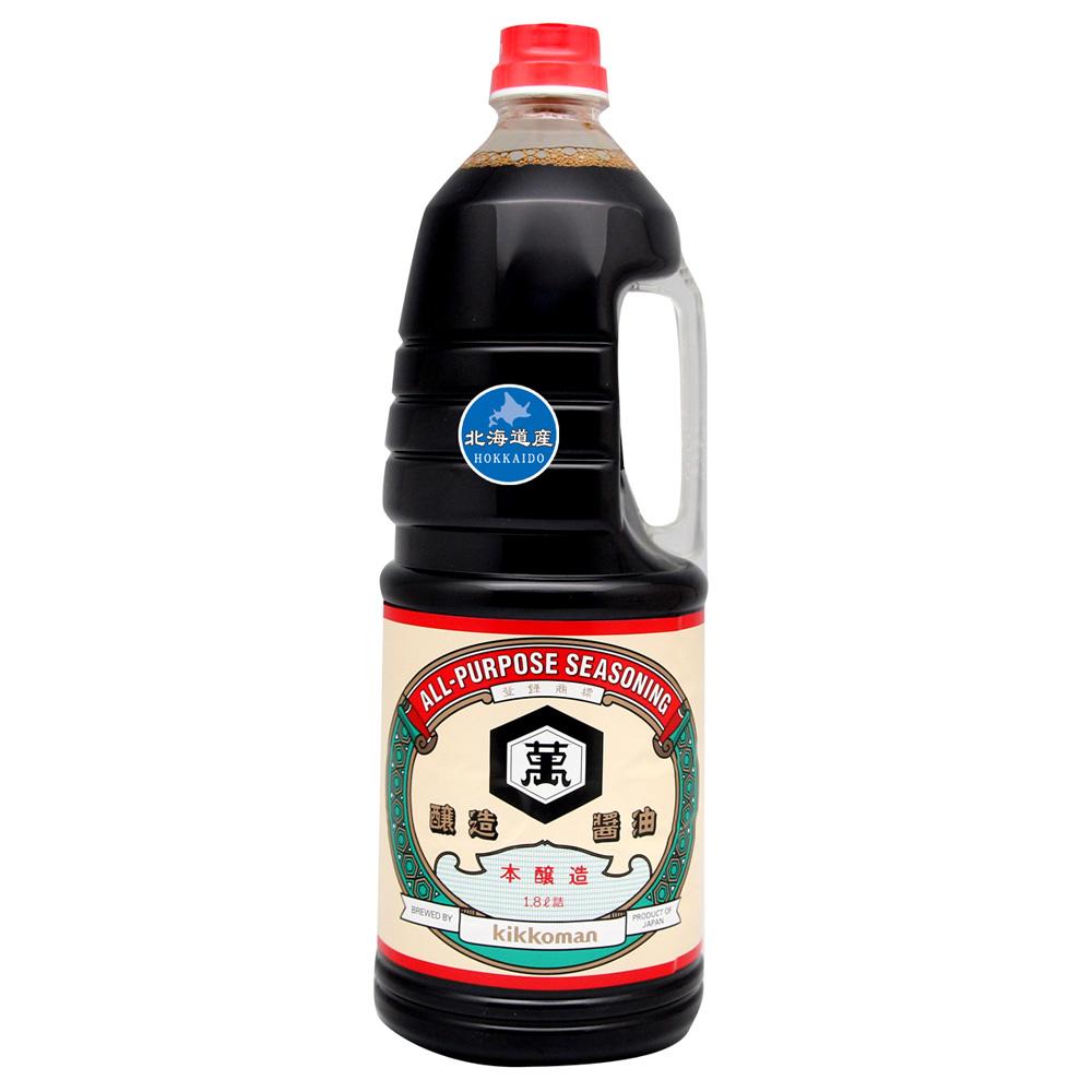 日本龜甲萬 北海道KIKKOMAN醬油-濃口(1.8L)