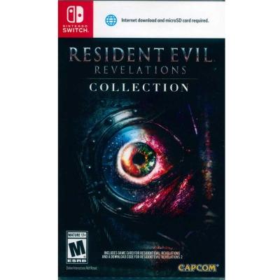 惡靈古堡:啟示 1+2 合輯 Resident Evil - Switch 中英日文美版