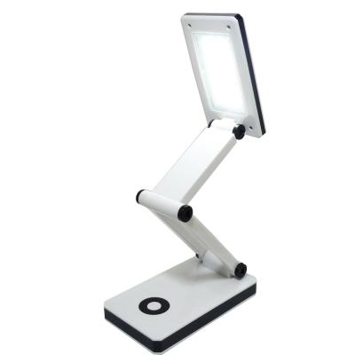 雷特斯充電式30LED折疊式多段檯燈-LTS-66