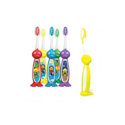 加拿大美適Maxill iPana兒童牙刷-立體鴨子造型(4入)