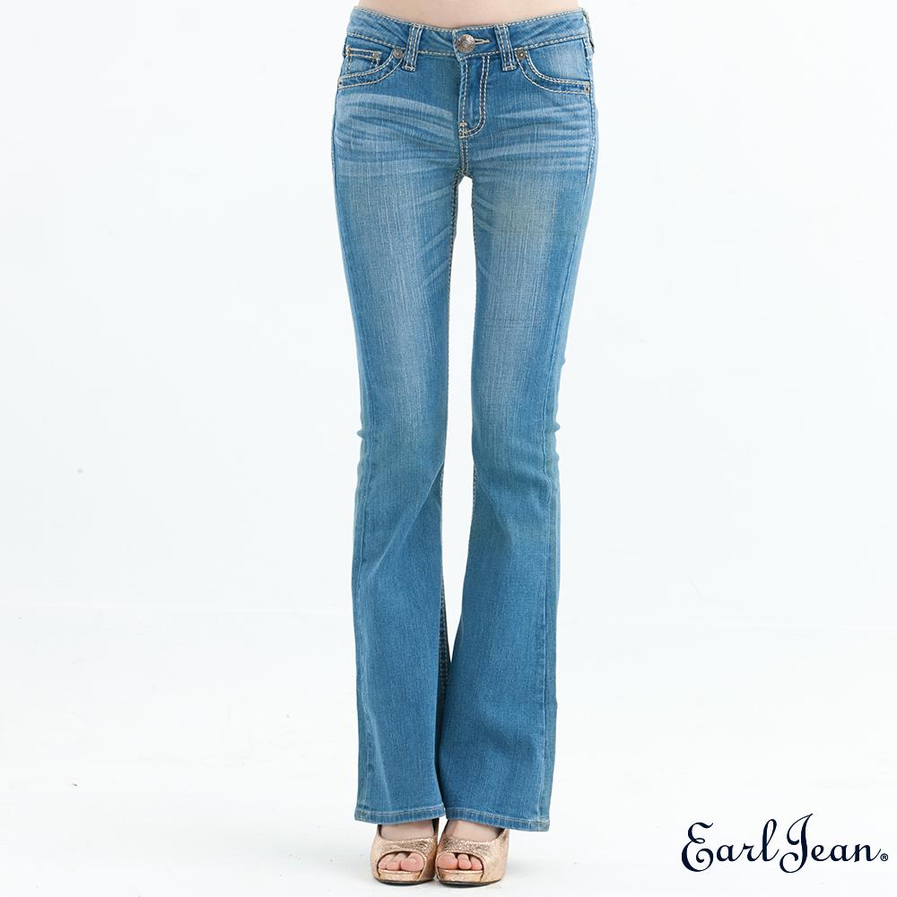 Earl Jean313中腰合身大喇叭褲