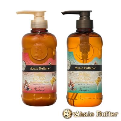 Ahalo Butter天使光天然植萃果油潤澤修護洗潤髮組