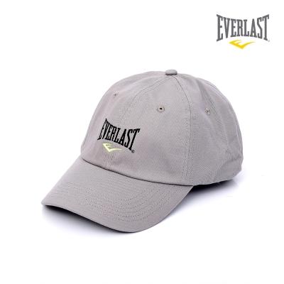 EVERLAST 美國運動品牌-經典潮流棒球帽-灰