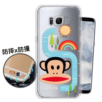 大嘴猴正版授權 Samsung S8+ / S8 Plus 原創風格 氣墊手機殼...