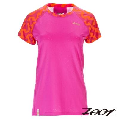 ZOOT 頂級極致型輕羽級吸排運動跑衣(女)Z1604005(玫瑰桃)