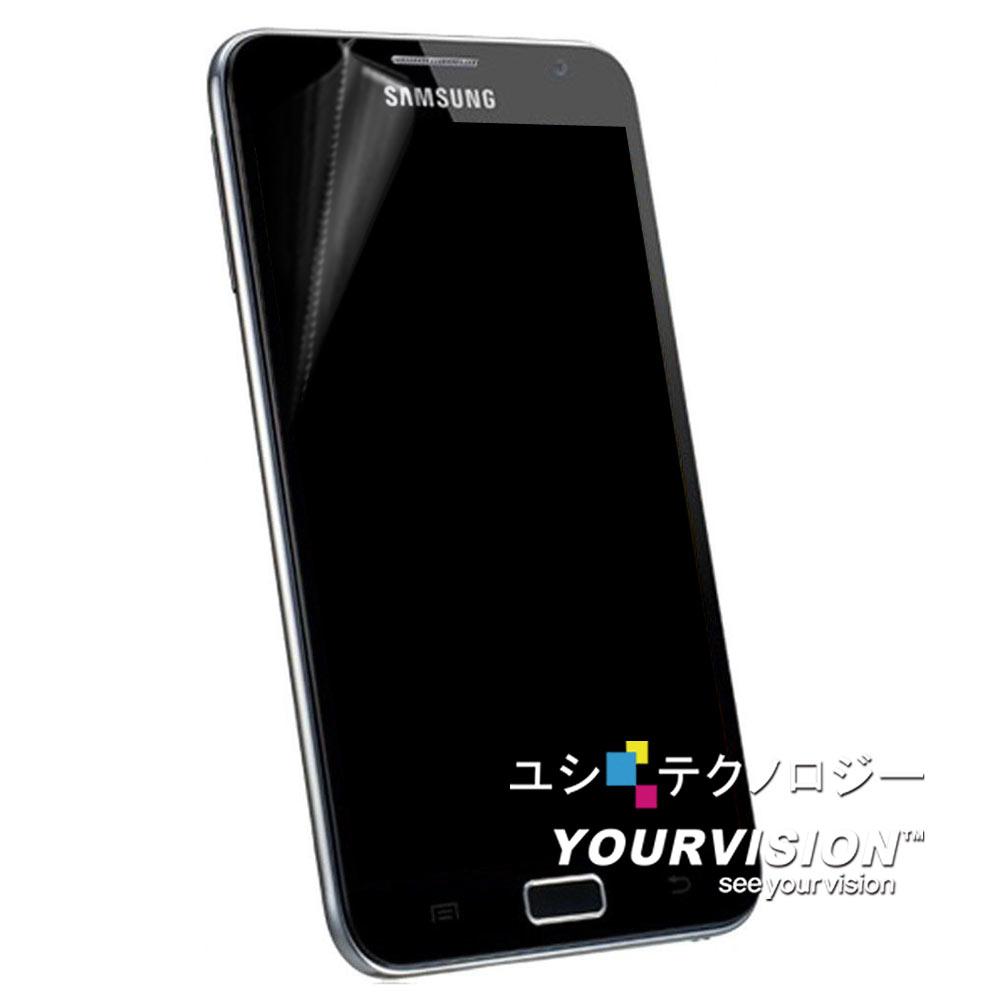 Samsung GALAXY Note N7000 晶磨抗刮高光澤(亮面)機身正面保護貼