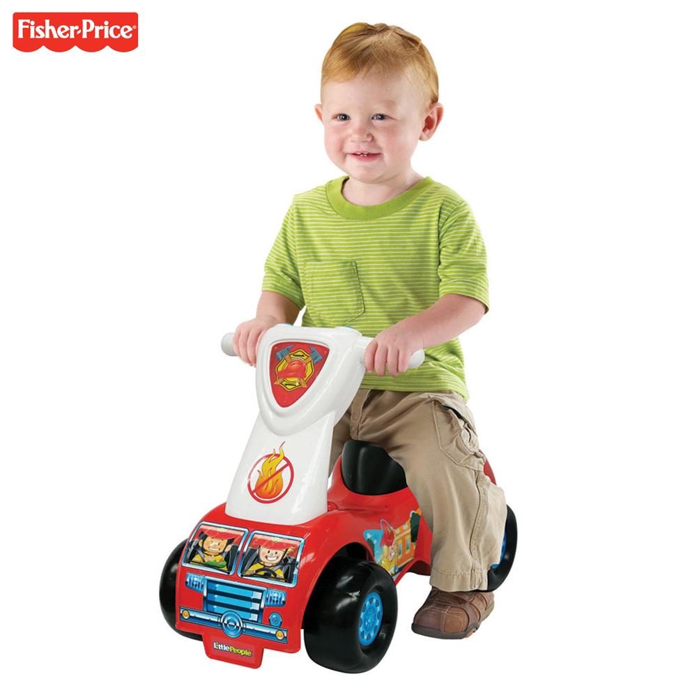 Fisher Price 費雪 救援騎乘玩具