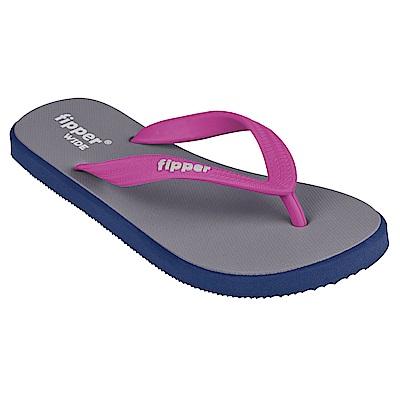 Fipper WIDE 天然橡膠拖鞋 GREY-MAGENTA @ Y!購物
