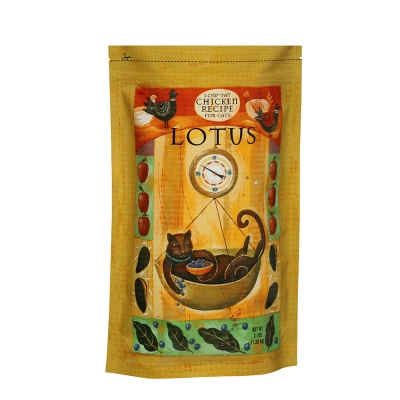 LOTUS樂特斯 養生鮮雞佐海洋貽貝-高齡/肥胖貓(3磅)