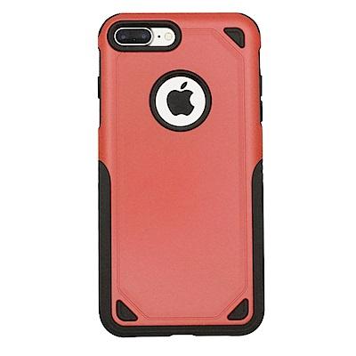 PKG Apple IPhone7+/8+ Plus 加強抗摔手機殼套-紅色