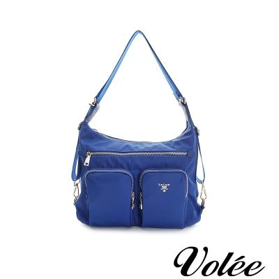 Volee飛行包 - 旅行日記三用肩背包 英國藍