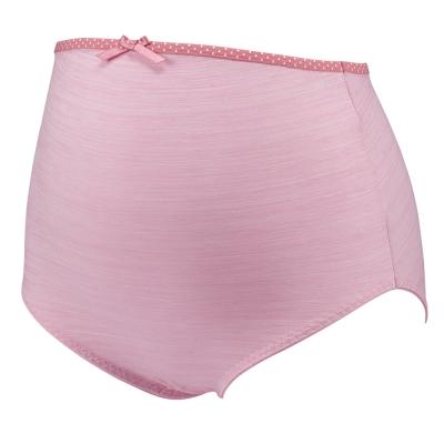 【ohoh-mini 孕婦裝】絕世好咖‧咖啡紗孕婦高腰內褲(粉)