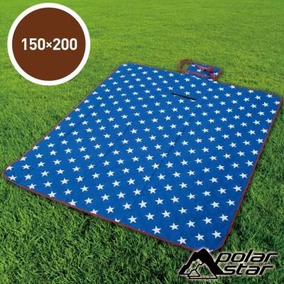【PolarStar】多功能防潮睡墊/野餐墊『璀璨之星』150X200cm P17709