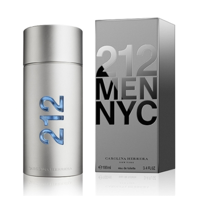 (情配)Carolina Herrera 212 MEN 都會男性淡香水 100ml
