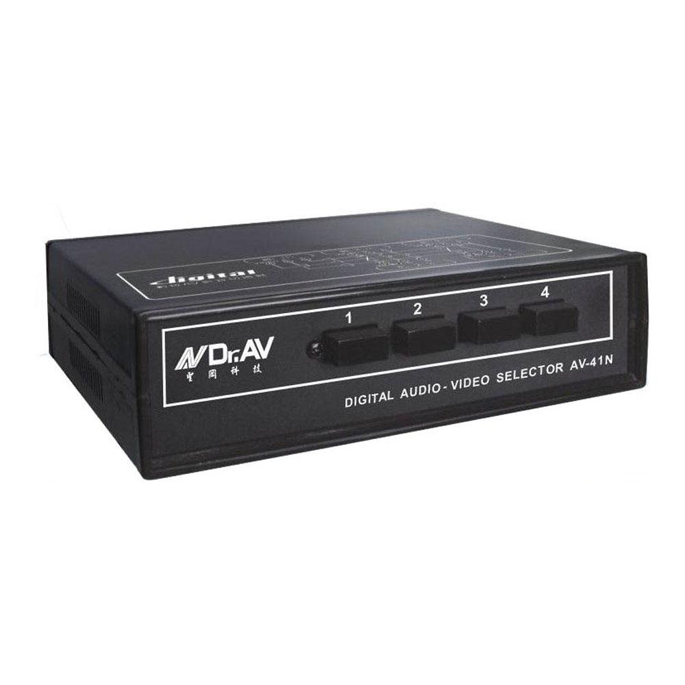 AV-41N  數位AV影音切換器(四入一出)