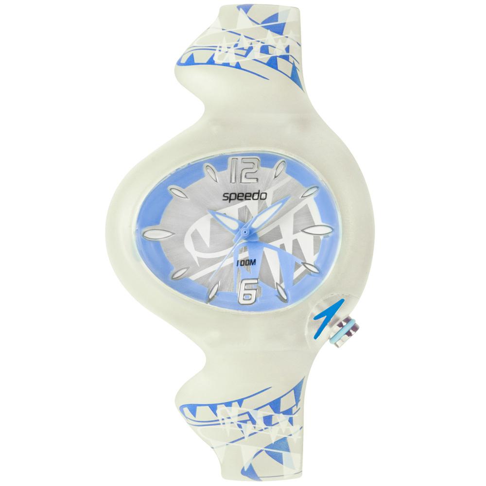 Speedo 綺麗變色兒童腕錶-藍/37mm