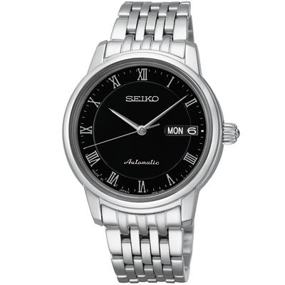 SEIKO Presage 經典風尚機械錶(SRP885J1 )-黑/34mm