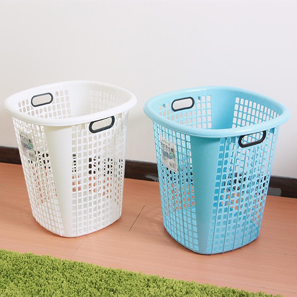 HOUSE 美式洗衣籃2入(隨機色)