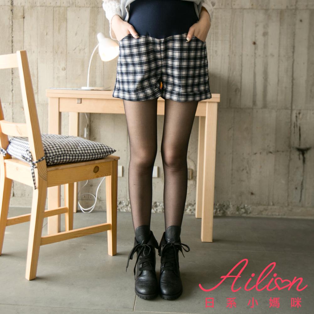 日系小媽咪孕婦裝-台灣製孕婦褲襪~裸膚透膚絲襪-二入組 (共二色)
