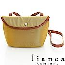 lianca 純手工製LIMONTA相機包(小) 金