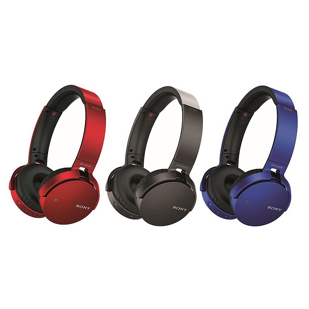 SONY 重低音耳罩式耳機無線藍牙耳機 MDR-XB950B1