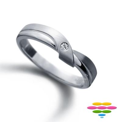彩糖鑽工坊 鑽石戒指 愛情流轉系列