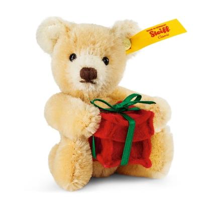 STEIFF德國金耳釦泰迪熊-Mini Teddy Bear Present(原創收藏版)