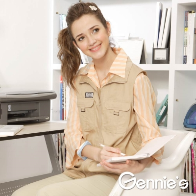 Gennies奇妮-010系列-電磁波防護衣立領式