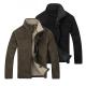 美國熊 內鋪羔絨 加厚保暖 立領防寒 夾克外