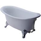 【I-Bath Tub精品浴缸】安妮公主-品味銀(100cm)