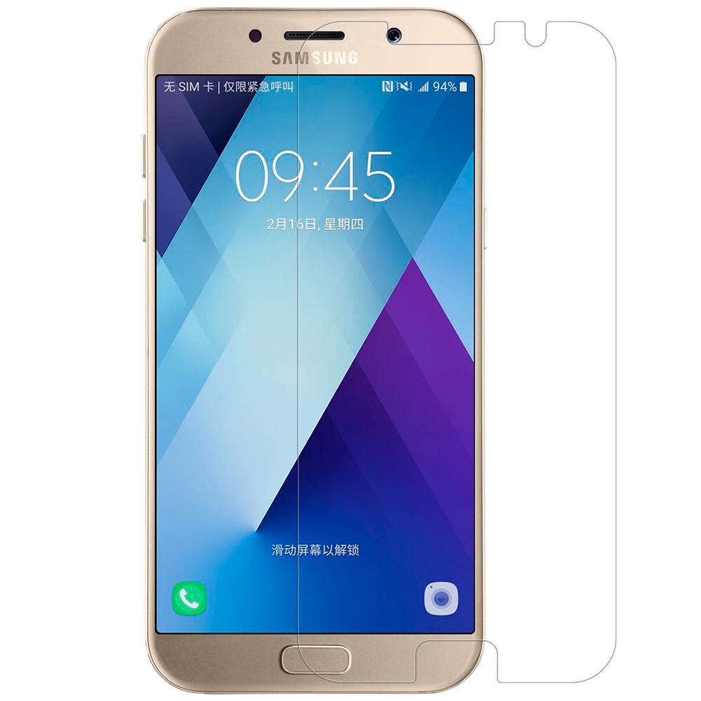 NILLKIN SAMSUNG Galaxy A7(2017) 超清防指紋保護貼 - 套裝