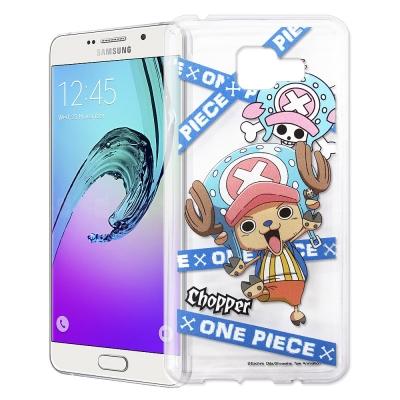 東映授權正版航海王Samsung Galaxy A7(2016)透明軟式手機殼(...