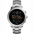 Fossil Q Explorist 系列觸控智能手錶-黑x銀/44mm