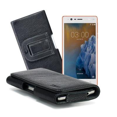 XM Nokia 3 5吋 麗緻真皮腰掛皮套