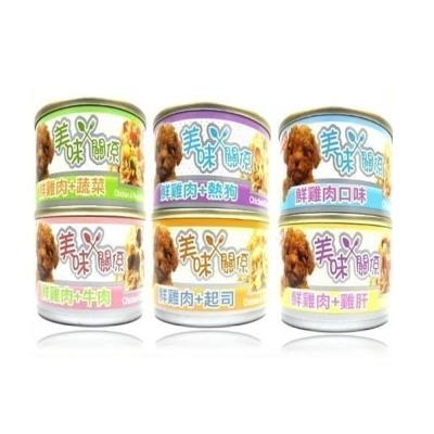 美味關係 美味雞肉狗罐頭 90g (24罐組)