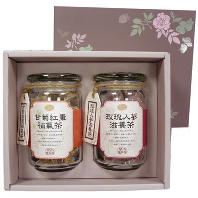 《曼寧》草本滋養補氣茶禮盒